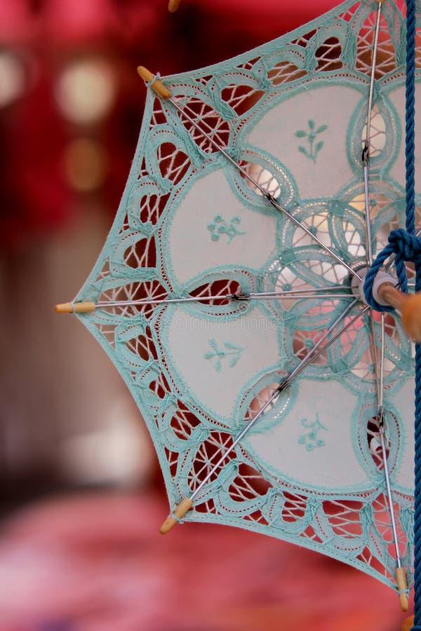 Guarda-chuva da lembrança do laço fotografia de stock royalty free