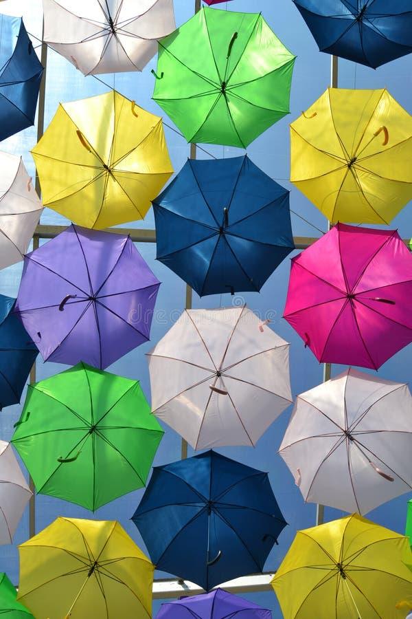 Guarda-chuva de flutuação imagem de stock royalty free