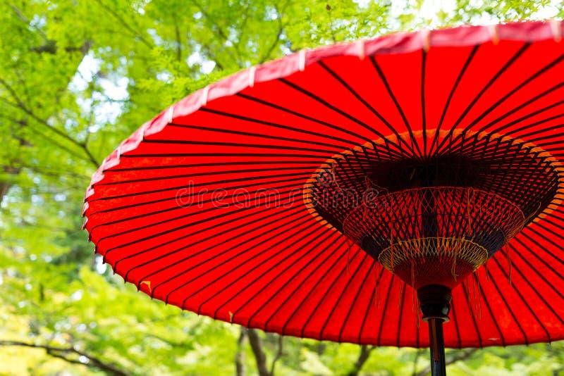 Guarda-chuva de papel no parque fotos de stock royalty free