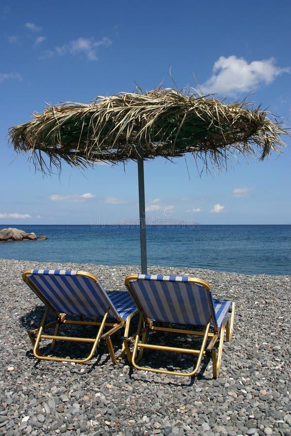 Guarda-chuva de praia foto de stock royalty free