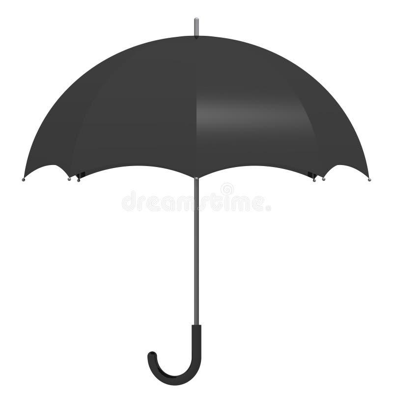 Guarda-chuva do `s do homem de negócio ilustração do vetor