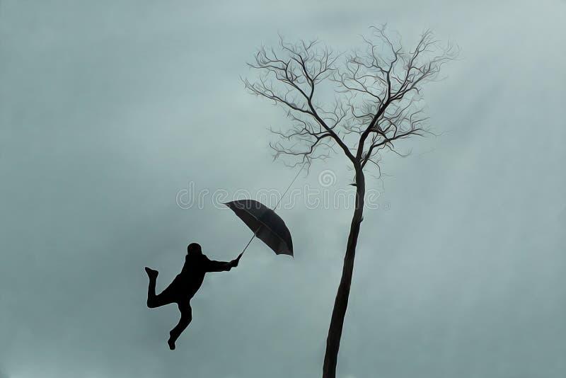 Guarda-chuva mágico 1 foto de stock
