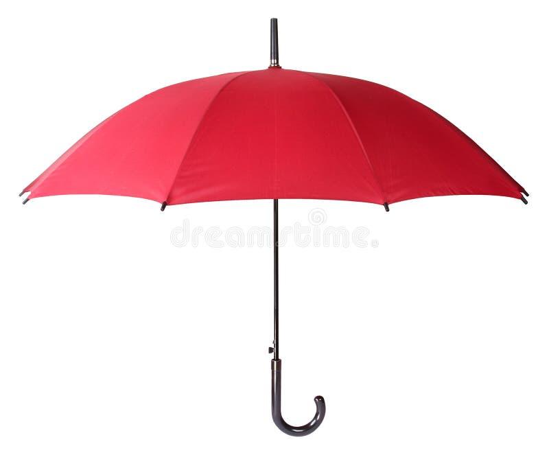 Guarda-chuva vermelho imagens de stock