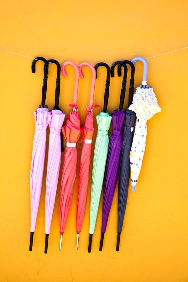 Guarda-chuvas fechados foto de stock royalty free