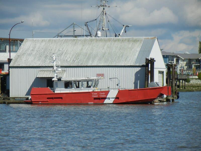 Guarda costeira Boat foto de stock