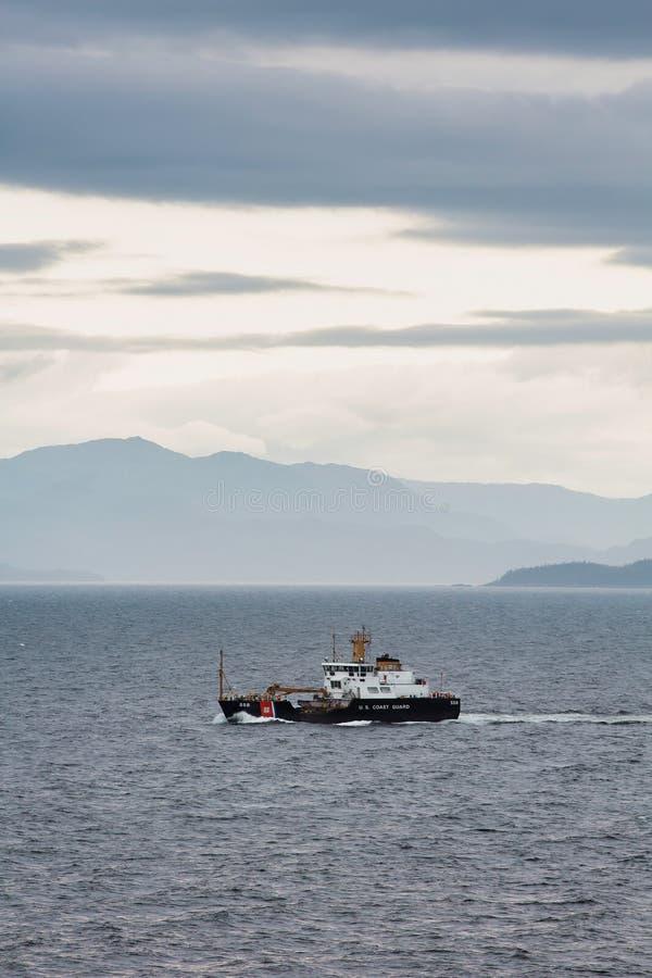 Guarda costeira Cutter Anthony Petit de um Estados Unidos de 175 pés foto de stock royalty free