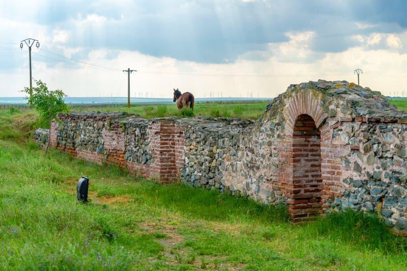 Guarda de Roman City en Histria foto de archivo libre de regalías