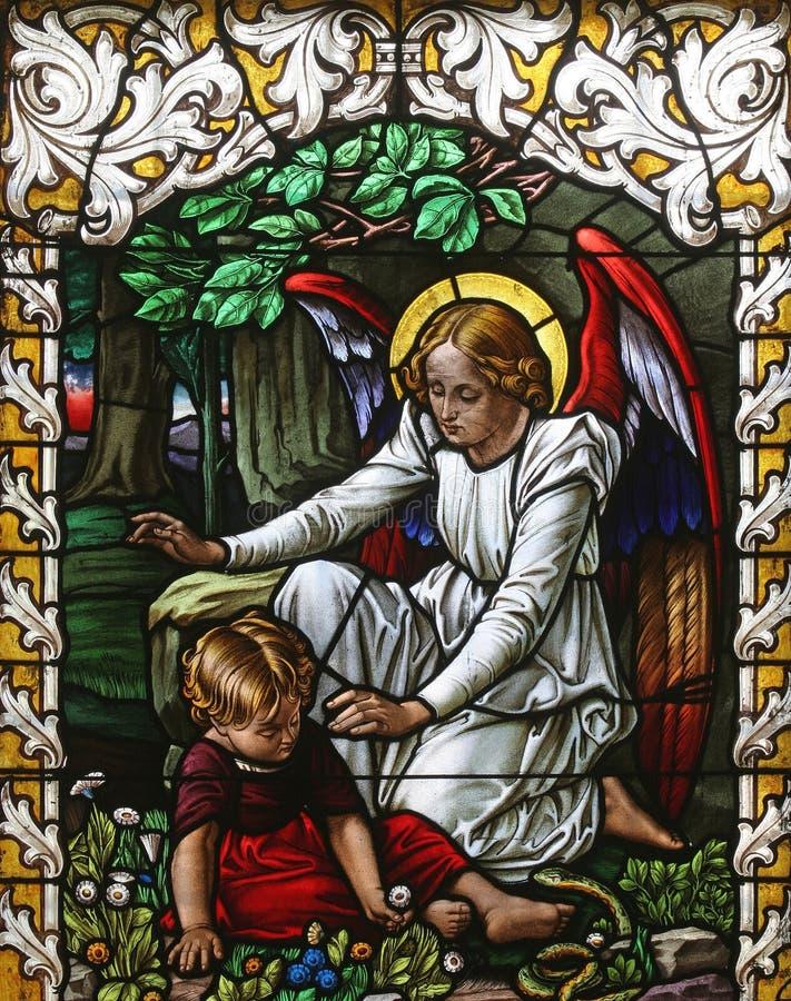 Guarda del ángel fotografía de archivo libre de regalías