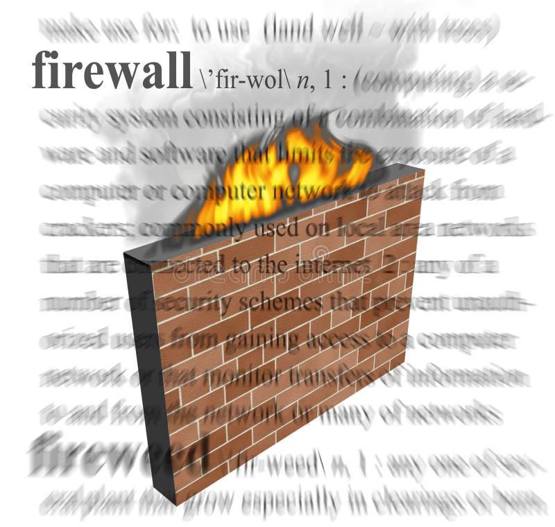 Guarda-fogo ilustração royalty free