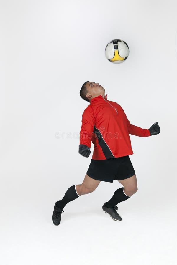 Guarda-redes do futebol fotografia de stock