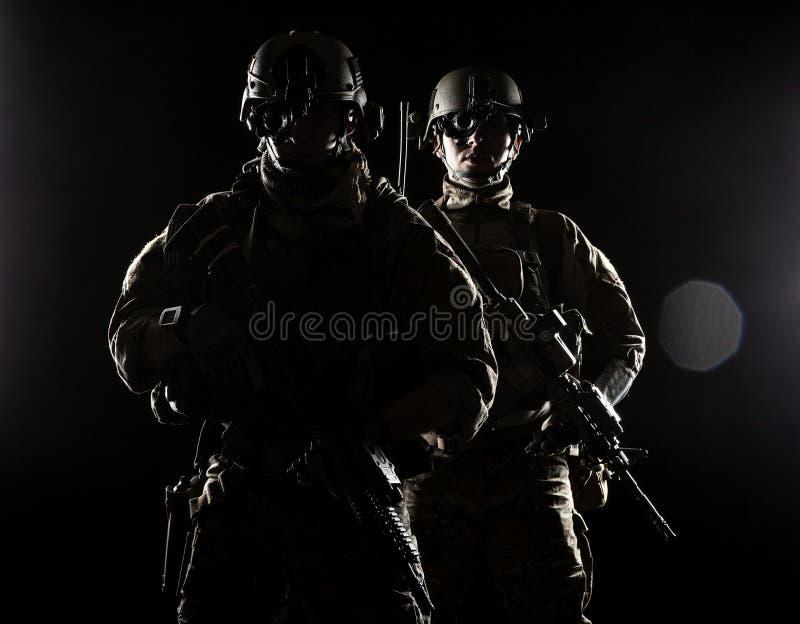 Guardabosques del ejército de Estados Unidos imagenes de archivo