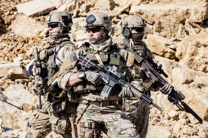 Guardabosques del ejército de Estados Unidos fotos de archivo libres de regalías