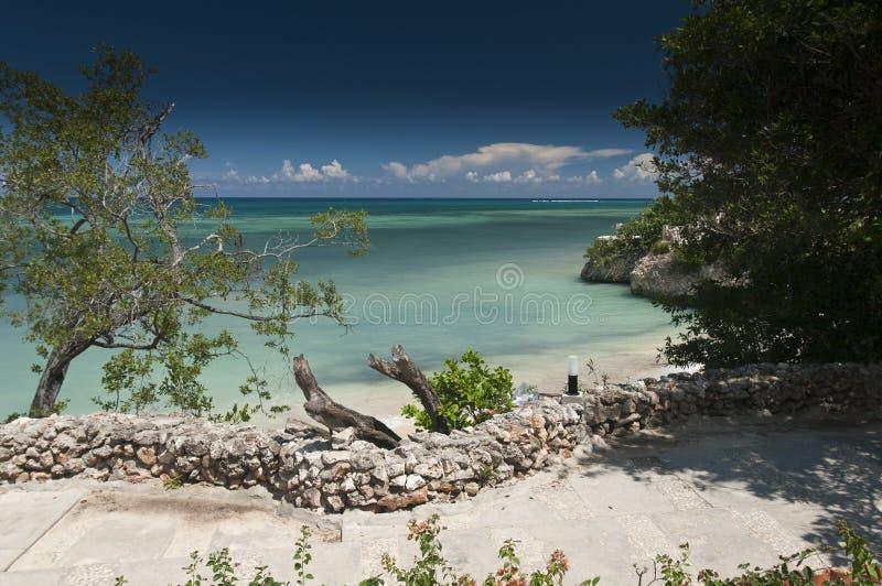 Guardalavaca海滩奥尔金省古巴 免版税库存照片