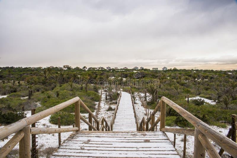 Guardamar Alicante royalty-vrije stock afbeeldingen