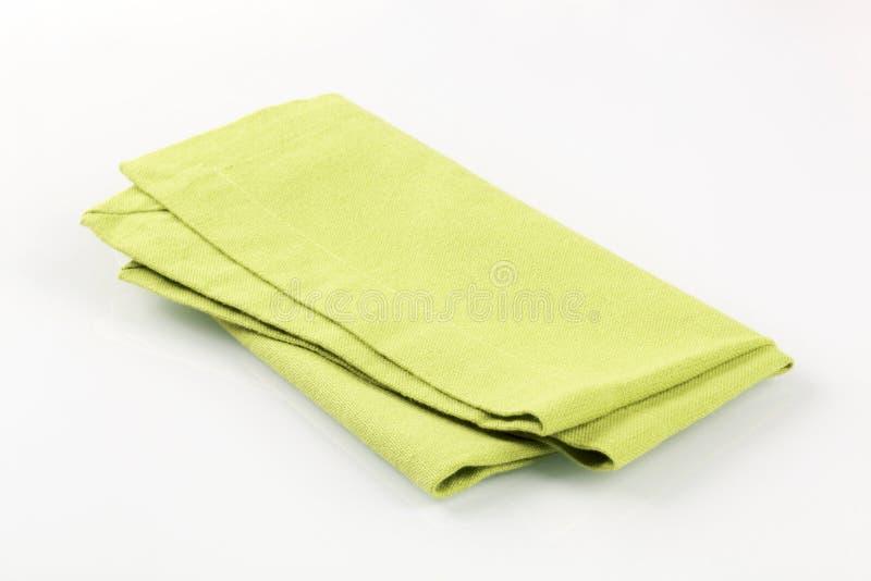 Guardanapo verde imagem de stock royalty free