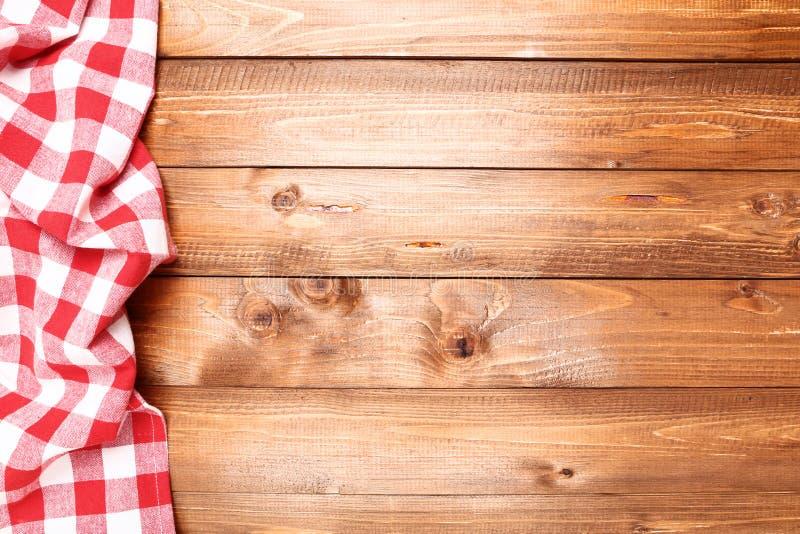 Guardanapo vermelho imagem de stock