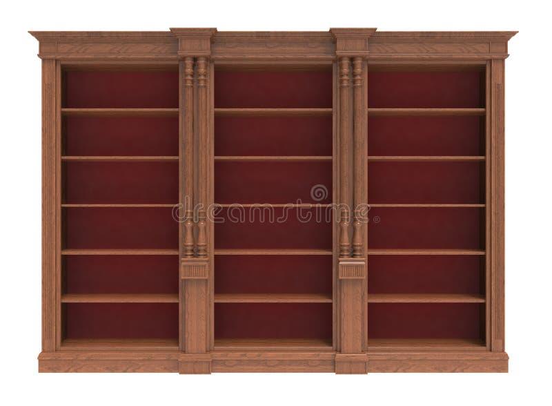 Guardaroba di legno royalty illustrazione gratis