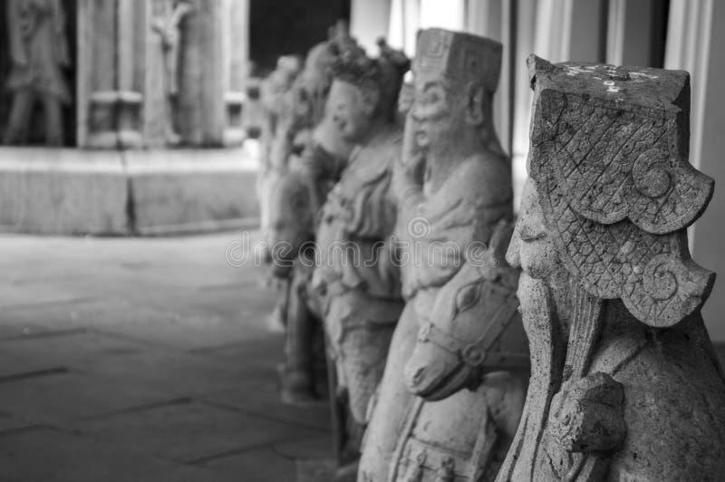Guardas chinos imagen de archivo