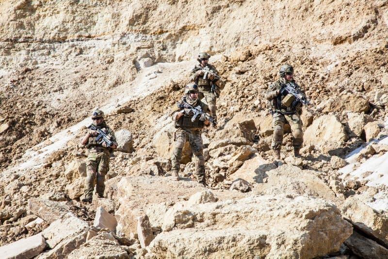 Guardas florestais do exército de Estados Unidos fotografia de stock