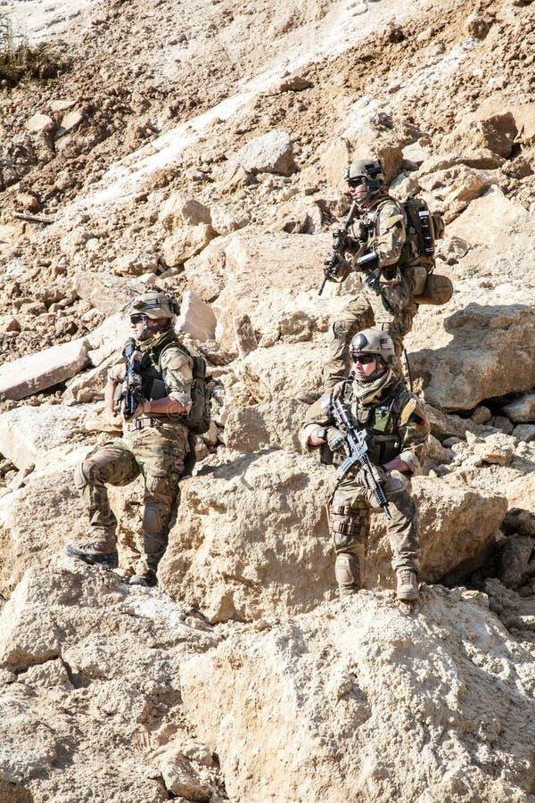 Guardas florestais do exército de Estados Unidos imagens de stock