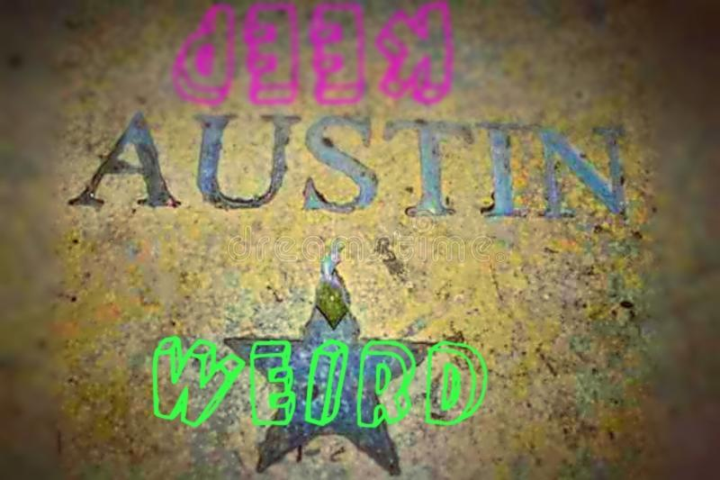 Guarde a Austin Weird fotos de archivo