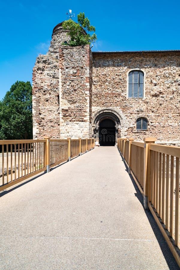 Guarde del castillo de Colchester fotografía de archivo libre de regalías