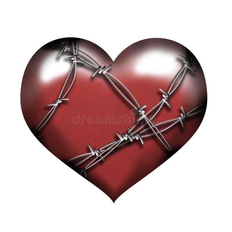 Download Guarded Heart stock illustration. Illustration of feel - 4271971