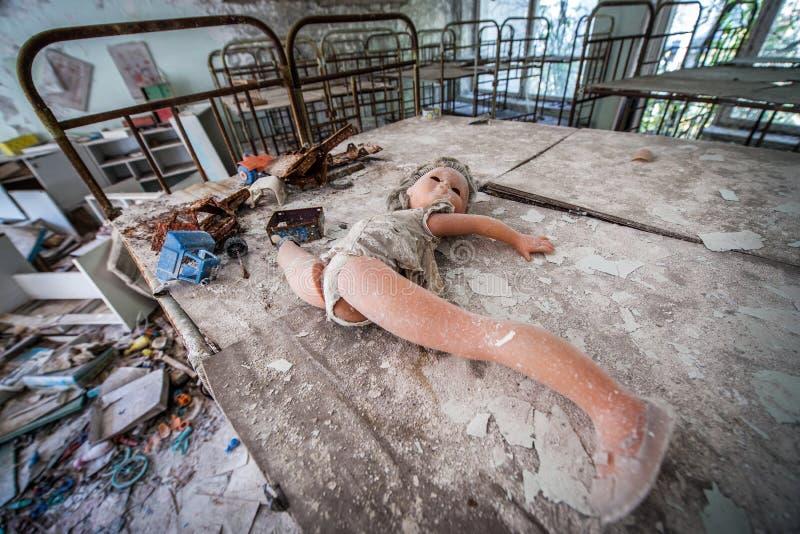 Guardería en Pripyat imagen de archivo libre de regalías
