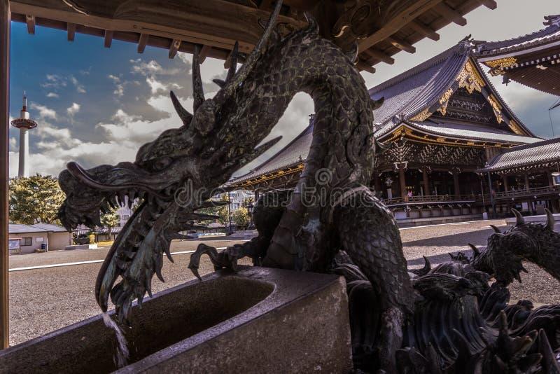 Guardião do dragão da divisão do leste imagens de stock
