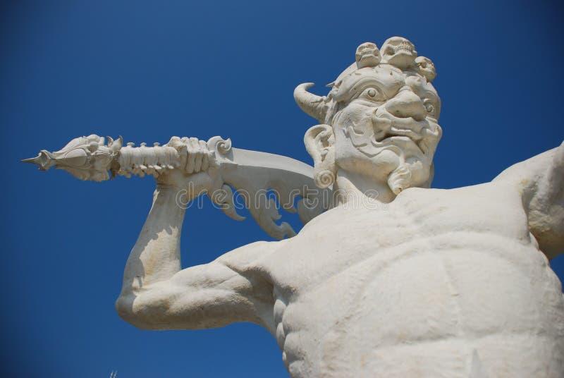 Guardião gigante branco imagem de stock