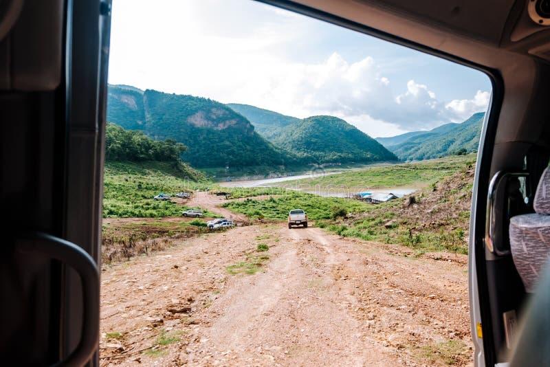 Guardi il Mountain View fotografia stock