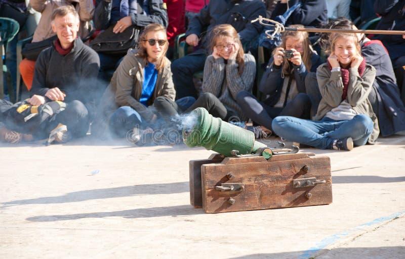 Guardia στην παρέλαση στοκ φωτογραφίες με δικαίωμα ελεύθερης χρήσης