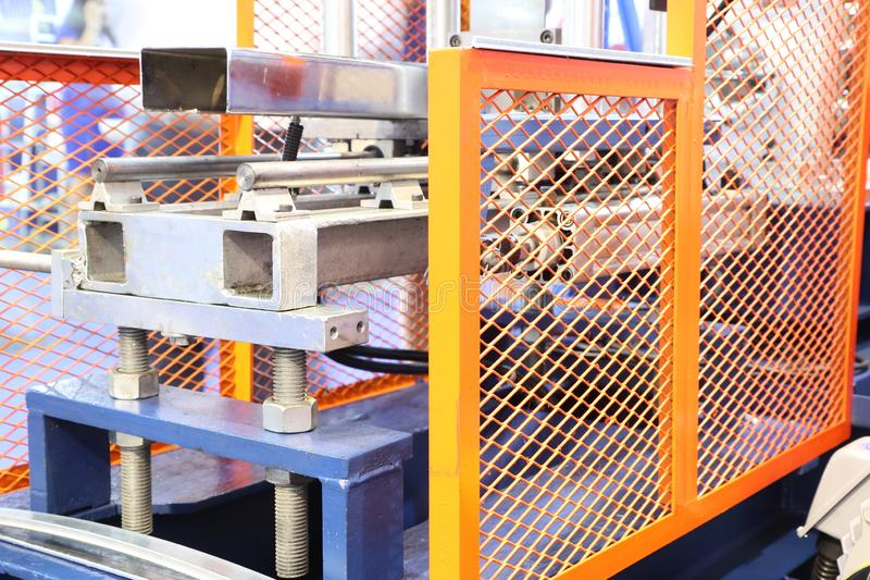 guardia de la seguridad de la máquina para la máquina que lamina foto de archivo