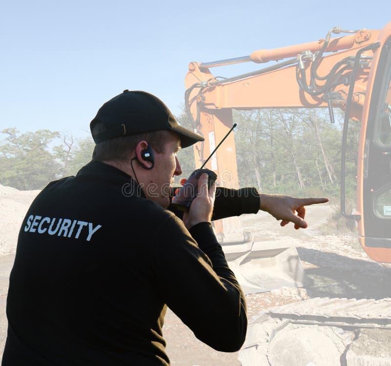 Guardia de seguridad imagen de archivo