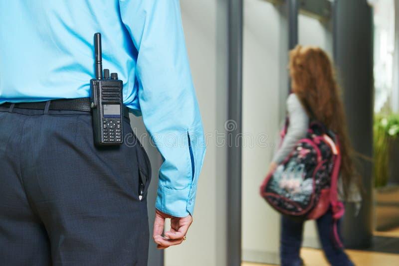 Guardia de seguridad foto de archivo libre de regalías