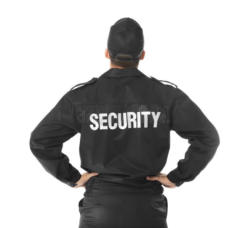 Guardia de seguridad masculino foto de archivo