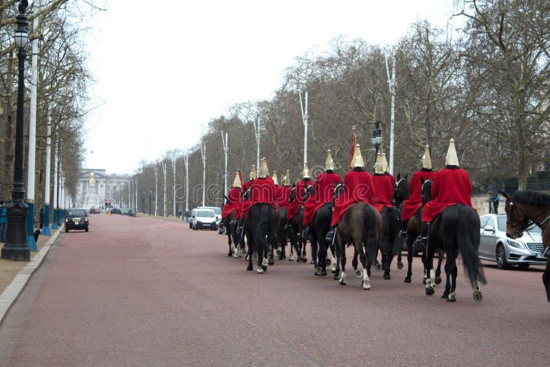 Guardia echte mens royalty-vrije stock foto