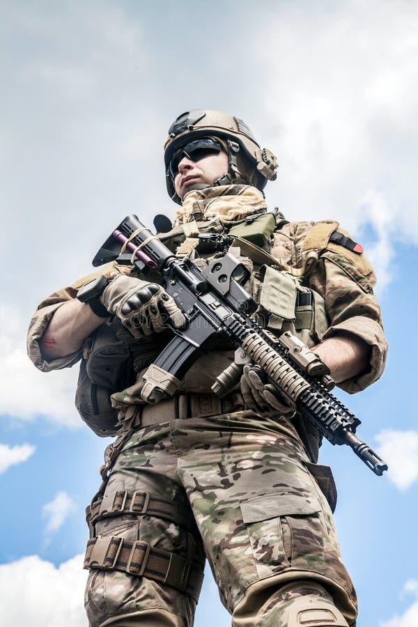 Guardia forestale dell'esercito fotografie stock