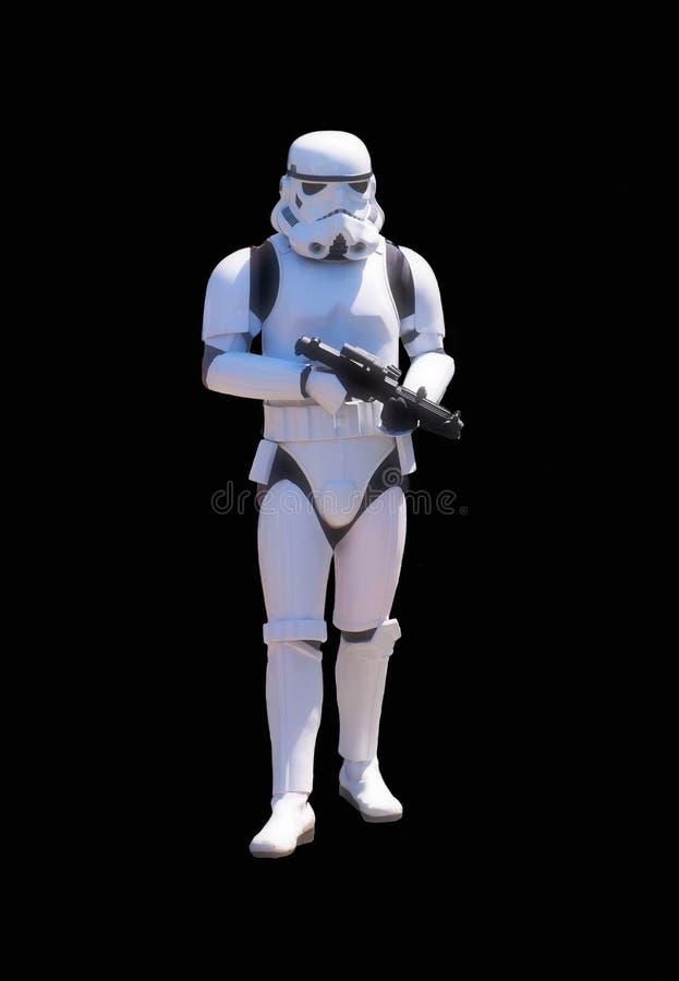 Guardia imperial Vertical de Star Wars fotografía de archivo