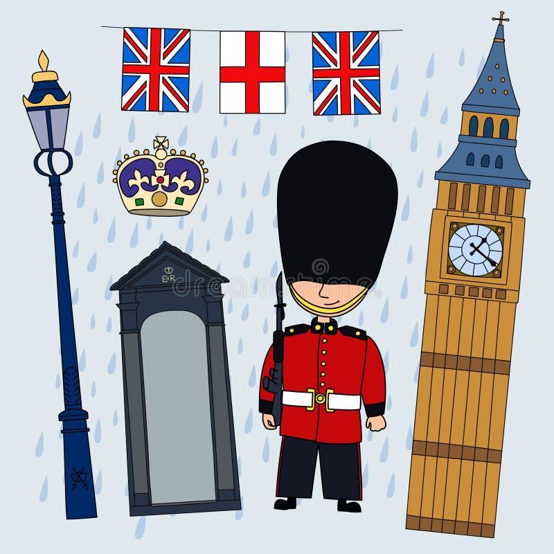 guardian ilustração royalty free