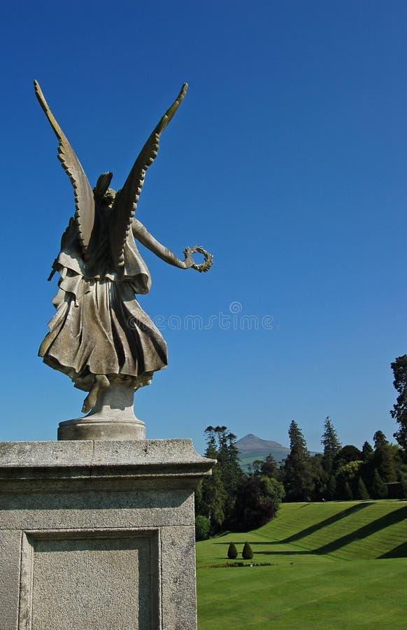 Free Guardian Angel In Garden Royalty Free Stock Photo - 7042825