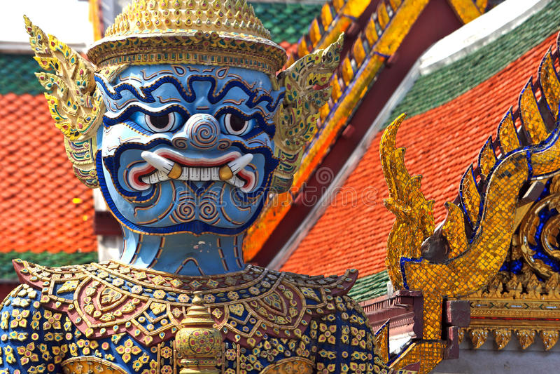 Guardian Daemon,Thailand royalty free stock image