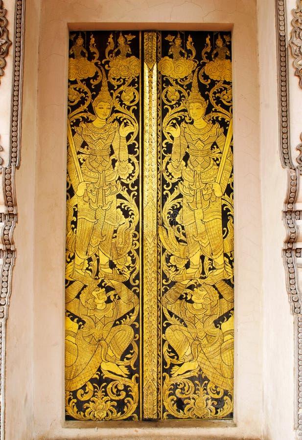 Guardian Door Royalty Free Stock Photography