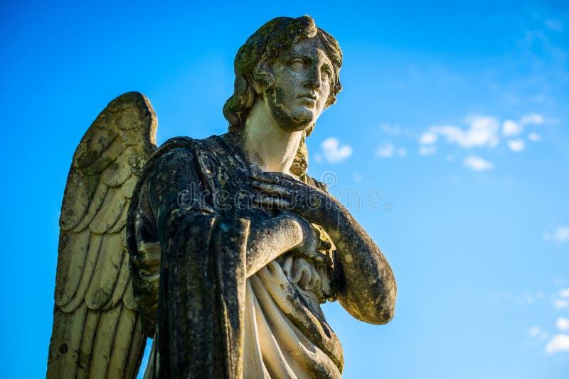 Guardian-engel - religies en culturen - opzettelijke gefilterde beeldstijl royalty-vrije stock fotografie