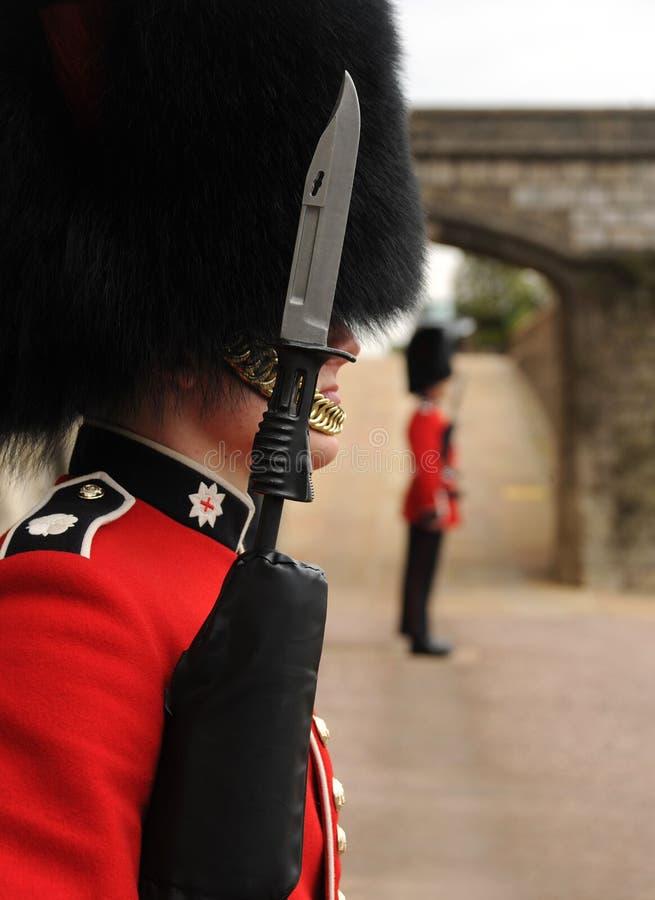 British Guardsmen Windsor castle stock photos