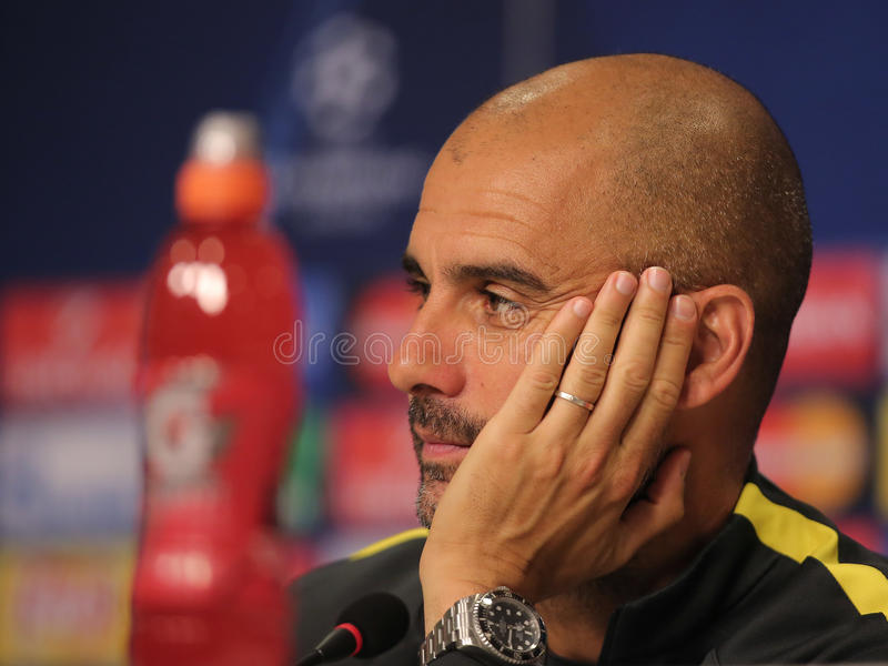guardiola Josep fotografia royalty free