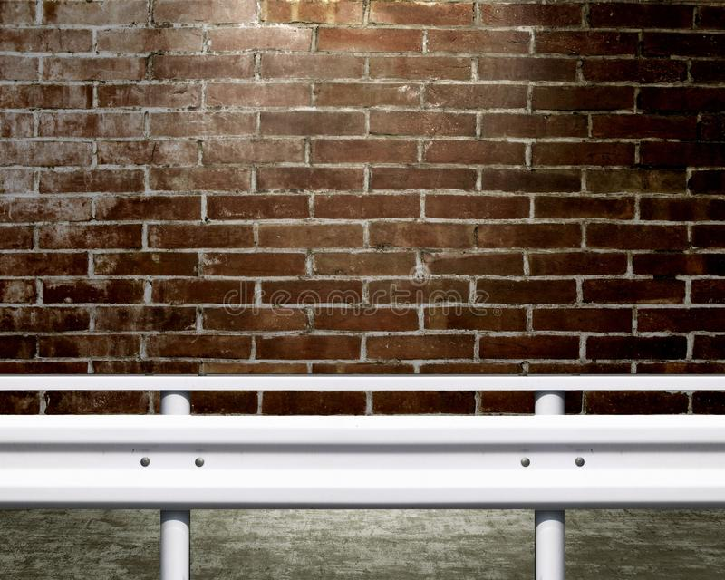 Download Guardrail stock illustration. Image of tile, rail, board - 14471742