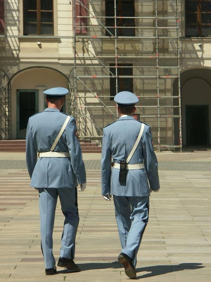 guards royaltyfri fotografi