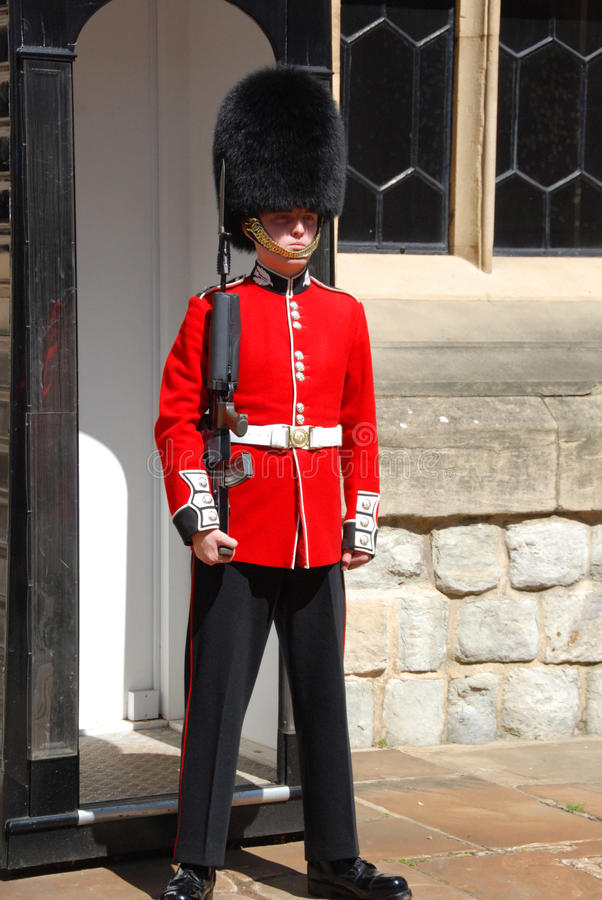 Guardsman on guard 2 royalty free stock images