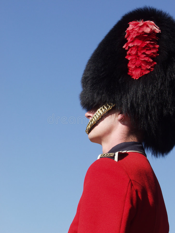 Download Guardsman At Quebec Citadel 2 Stock Image - Image of defence, citadel: 1333617